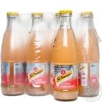 Schweppes Pink Grapefruit carbonated beverage 250ml