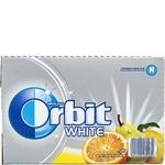Жевательная резинка Wrigley's Orbit White с фрутовым ароматом 35г