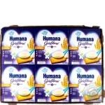 Пудинг Хумана манная с печеньем для детей с 8 месяцев 400г