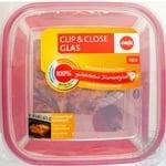 Контейнер скляний Emsa Clip&Close квадратний 1,25л EM508101