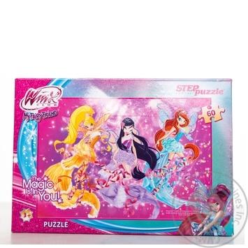 Step Puzzle Winx Club Puzzles 60 Elements