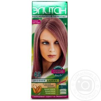 Крем-фарба для волосся Елітан 100 №45 Рожеве дерево