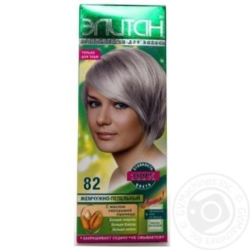 Крем-фарба для волосся Елітан 100 №82 Перлинно-попелястий