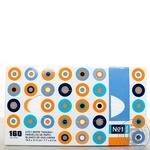 Хустинки паперові універсальні, двошарові, марки Bella №1. (160 шт.)