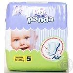 Подгузники Panda Newborn 12-25кг 13шт