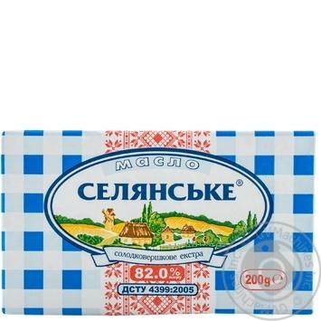 Selyanske Creamy-Sweet Butter 200g