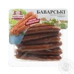 Колбаски Бащинский Баварские полукопченые в/с 240г