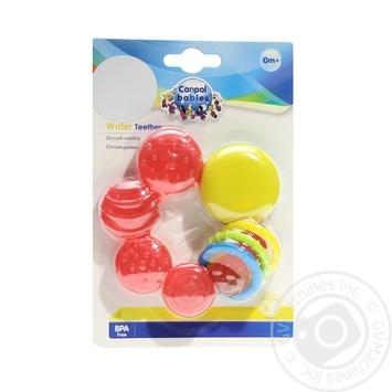 Прорезыватель для зубов Canpol babies Пузырьки охлаждающий