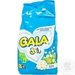 Стиральный порошок Gala Весенняя свежесть автомат 3кг