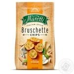 Хлібні брускети Maretti запечені зі смаком суміш сирів 70г