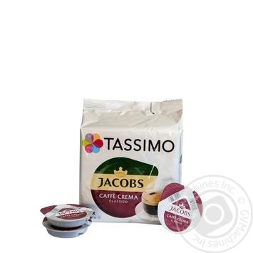 Jacobs Tassimo Crema ground coffee 16*7g - buy, prices for MegaMarket - image 2