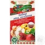 Polis tea Wisdom of nature Ginger quince strawberry tea 20packs*2g