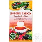 Tea Polissia tea fruit packed 20pcs 40g