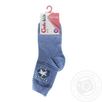 Шкарпетки дитячі TIP-TOP р.16 180 джинс х6