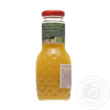 Juice Granini orange glass bottle