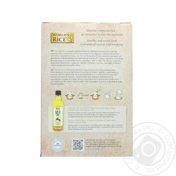 Рис Ворлдс Райс довгозернистий нешліфованийв в пакетиках 400г - купити, ціни на МегаМаркет - фото 2