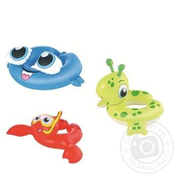 Надувні кільця Морські тваринки дитячі в ассортименті - купити, ціни на Novus - фото 1