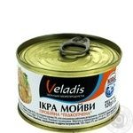Veladis smoked capelin caviar 120g