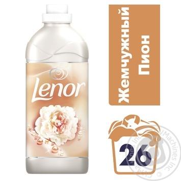 Кондиционер для белья Lenor Parfumelle Жемчужный пион 930мл - купить, цены на МегаМаркет - фото 2