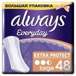Ежедневные прокладки Always Every day Large 48шт - купить, цены на Novus - фото 3
