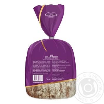 Хліб Київхліб Оксамитовий половина нарізка 350г - купити, ціни на Novus - фото 2