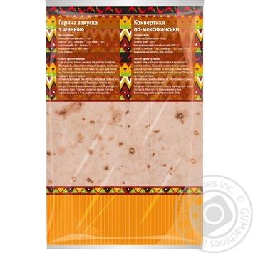 Лаваш Киевхлеб Мексиканский 3шт, 200г - купить, цены на Фуршет - фото 2