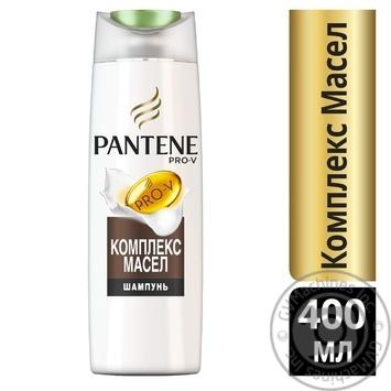 Шампунь Pantene Слияние с природой Oil Therapy система восстановления 400мл - купить, цены на МегаМаркет - фото 2