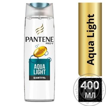 Шампунь Pantene Pro-v Aqua Light 400мл - купить, цены на Метро - фото 2
