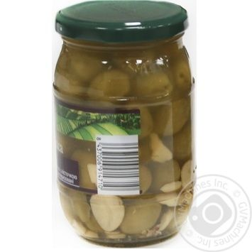 olive Feudo verde with garlic green with bone 360g - buy, prices for Novus - image 2
