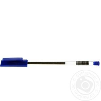 Ручка шариковая синяя - купить, цены на Ашан - фото 1