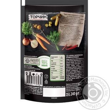 Заправка Торчин с маринованными огурцами для первых и вторых блюд 240г - купить, цены на Novus - фото 2