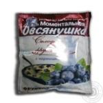 Каша Вівсянушка з фруктозою та чорницею 40г