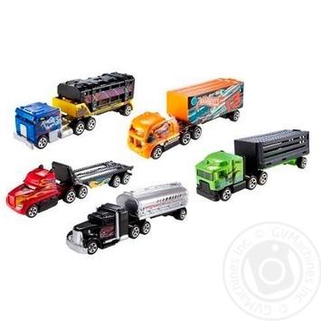 Игрушка Hot Wheels грузовик-трейлер - купить, цены на Novus - фото 1