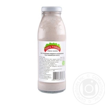 Соус-заправка для салатов Vita Verde Горчичный с медом и клюквой 300мл - купить, цены на Novus - фото 1