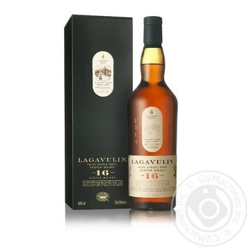 Виски Lagavulin 16 years 700мл