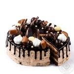 Торт Шоколадный с соленой карамелью - купить, цены на Novus - фото 1