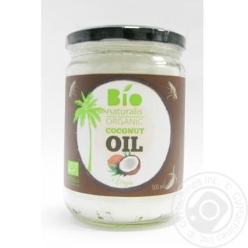 Масло кокосовое Bionaturalis органическая нерафинированная 500мл - купить, цены на Novus - фото 2