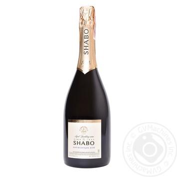 Вино игристое Shabo Classic белое полусладкое 10.5-13.5% 0,75л - купить, цены на Novus - фото 2