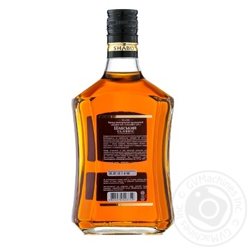 Shabo YP Shabby Classic Brandy  grape ordinary 40% 0,5l - buy, prices for Auchan - photo 2