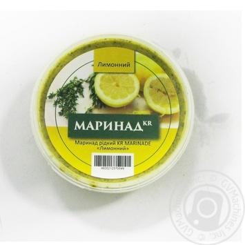 Маринад рідкий KR MARINADE лимонний 150г