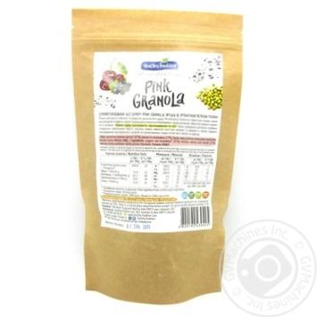 Сніданок сухий Pink Granola Ягідна крафт-пакет Healthy Tradition 200г - купити, ціни на Novus - фото 2