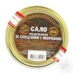 Сало Діброва подрібнене із спеціями і морквою 250г - купити, ціни на Novus - фото 3
