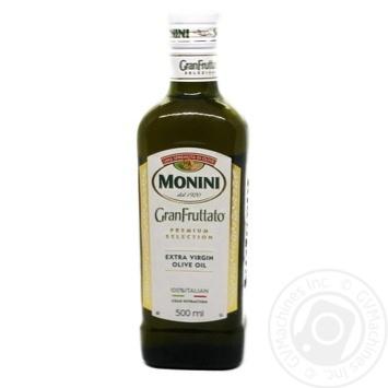 Олія оливкова Monini Extra Vergine Гранфруттато, с/б 500 мл
