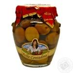 Оливки сорту Pеranzana з кісточкою в розсолі консервовані Bella Contadina 314мл
