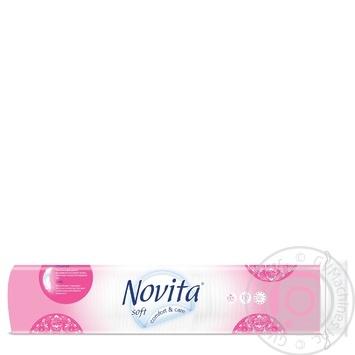 Диски ватні Novita Soft косметичні 150шт - купити, ціни на МегаМаркет - фото 2