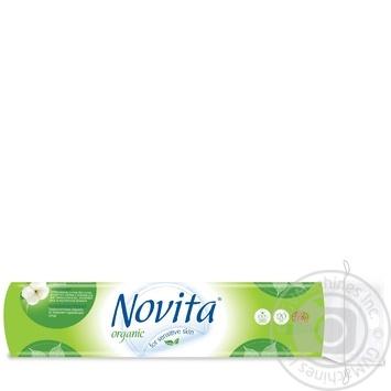 Диски ватные Novita Organic косметические 120шт - купить, цены на МегаМаркет - фото 2