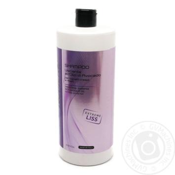 Шампунь для розгладжування волосся з олією авокадо Brelil Numero 1л