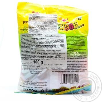 Цукерки-карамель фрукт асорті шипучі Musss Pszczolka 100г - купить, цены на Novus - фото 2