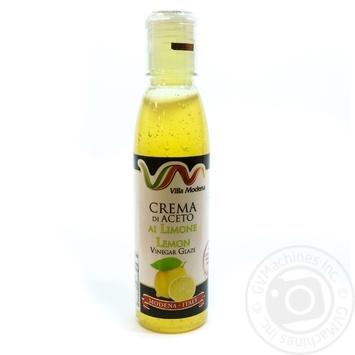 Соус з винного оцту з лимонним соком Villa Modena пет 150мл - купить, цены на Novus - фото 1