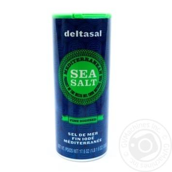 Сіль морська Deltasal Гурме йодована дрібного помолу 500г - купити, ціни на Novus - фото 1